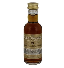 Glendronach 21 Years Old Parliament Miniatures 50ml