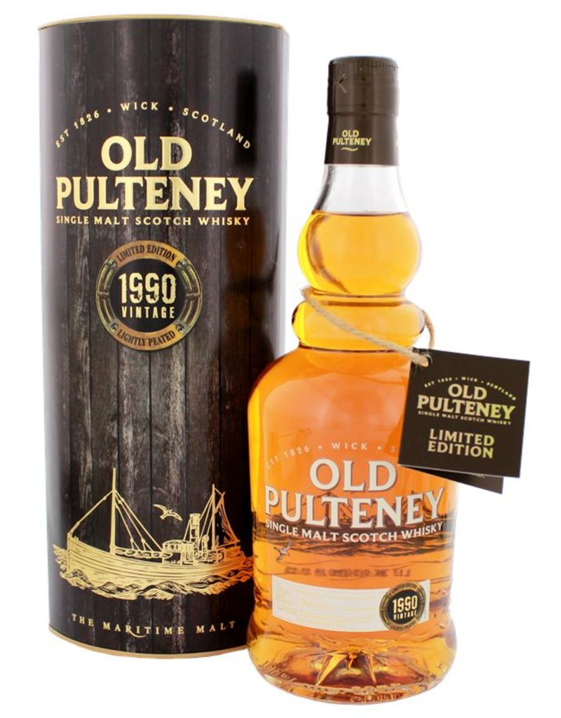 Old Pulteney Old Pulteney 1990 Malt Whisky 700ml Gift Box