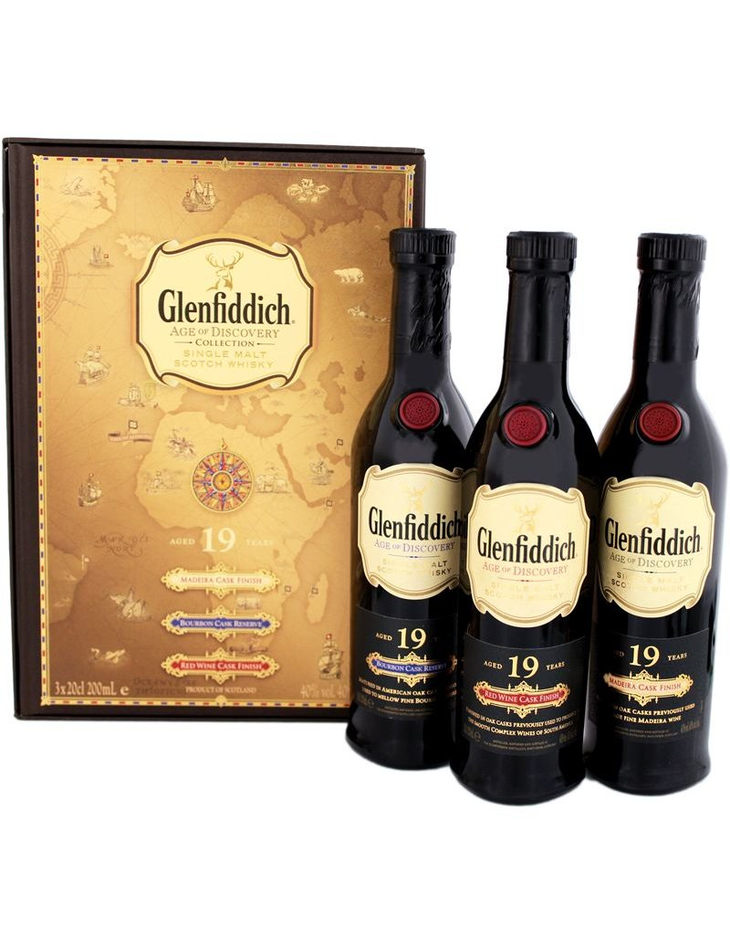 Glenfiddich Glenfiddich 19 Years Old Triplepack 3x200ml