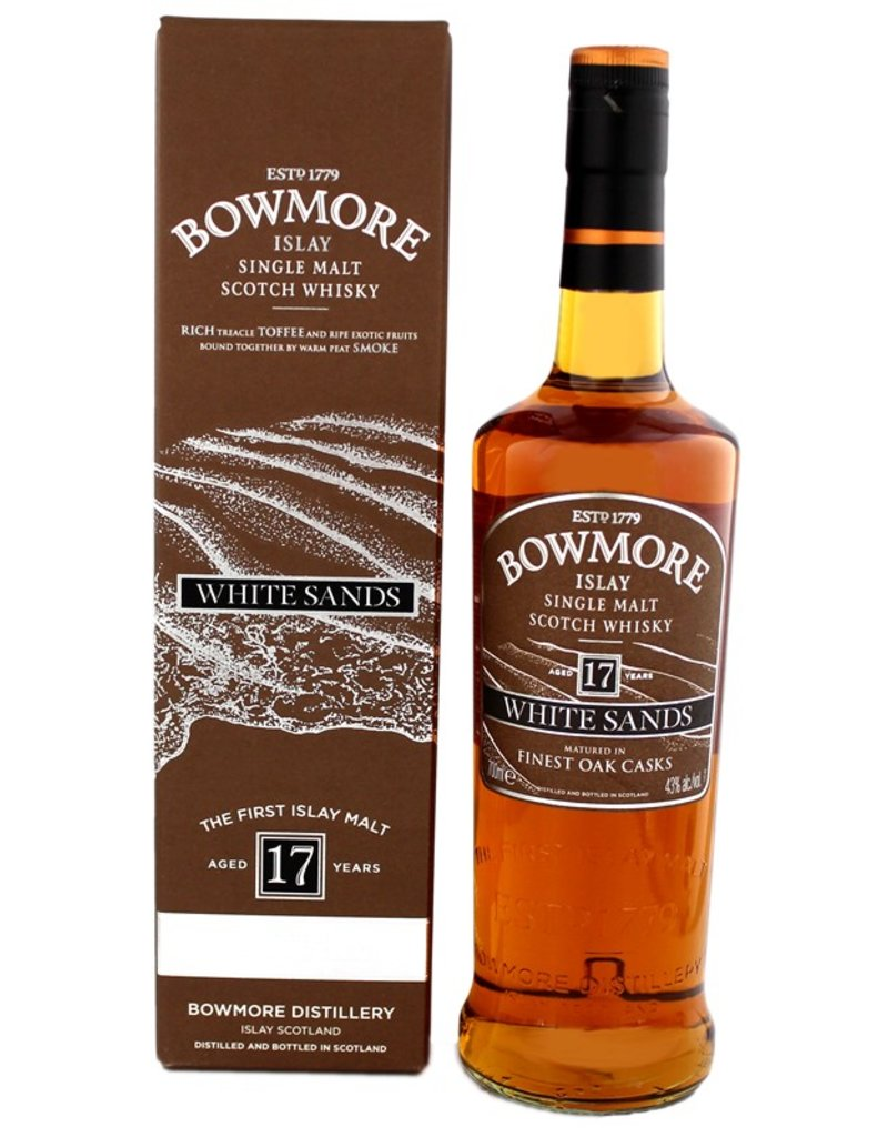Bowmore Bowmore White Sands 17 Years Old 700ml Gift Box