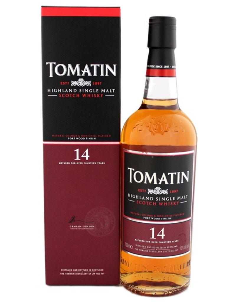 Tomatin Tomatin 14YO 700ml Gift Box