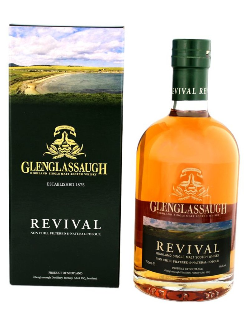 Glenglassaugh Revival 700ml Gift Box