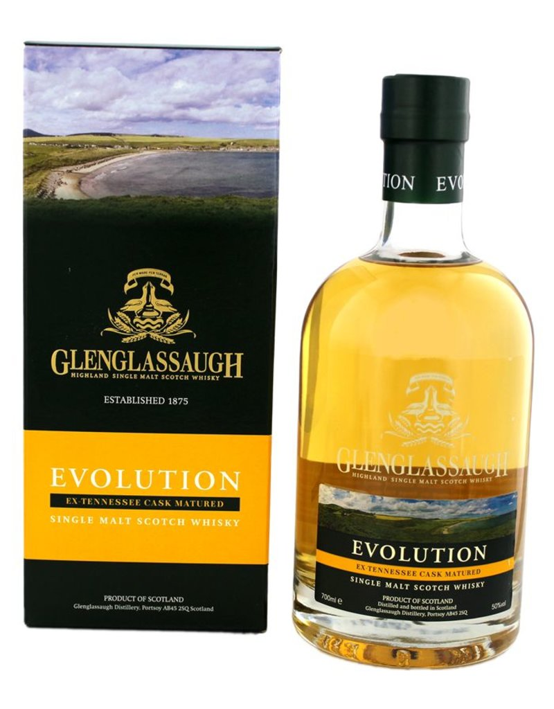 Glenglassaugh Evolution 700ml Gift Box