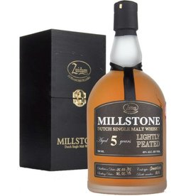 Zuidam Zuidam Millstone Malt Whisky Lightly Peated 5 Years Old 700ml Gift Box