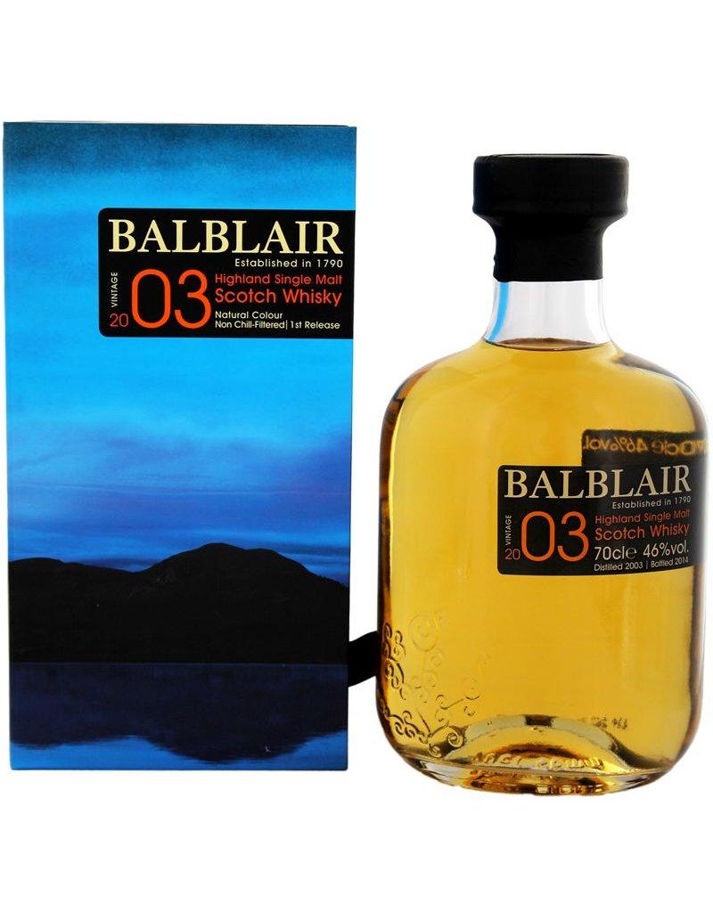 Balblair Balblair 2003 Vintage 700ml Gift Box