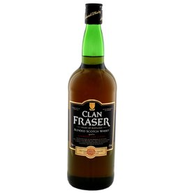Clan Fraser Blended Scotch Whisky 1 Liter