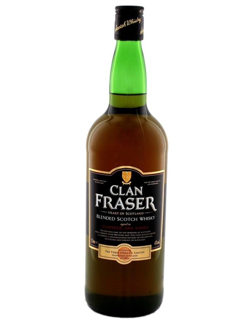 Clan Fraser Blended Scotch Whisky 1 Liter
