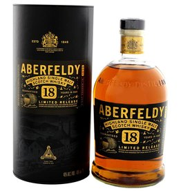 Aberfeldy 18 Years Old Single Malt Scotch Whisky 1 Liter Gift Box