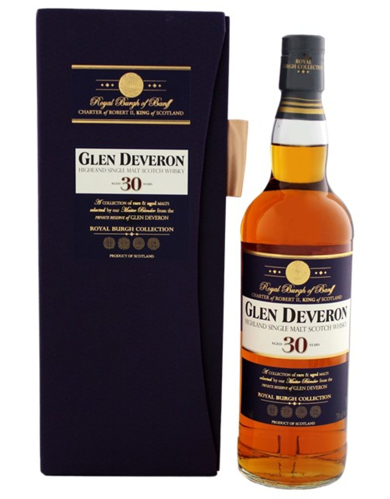 Glen Deveron Glen Deveron 30YO Malt Whisky 700ml Gift Box