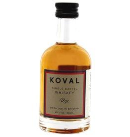 Koval Rye Whiskey Miniatures 50ml