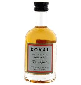Koval Four Grain Whiskey Miniatures 50ml