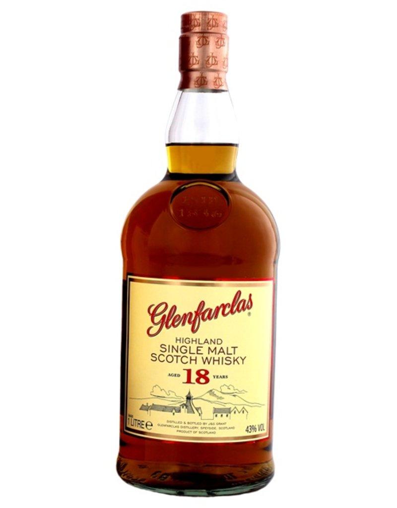 Glenfarclas Glenfarclas 18 Years Old 1 Liter Gift Box