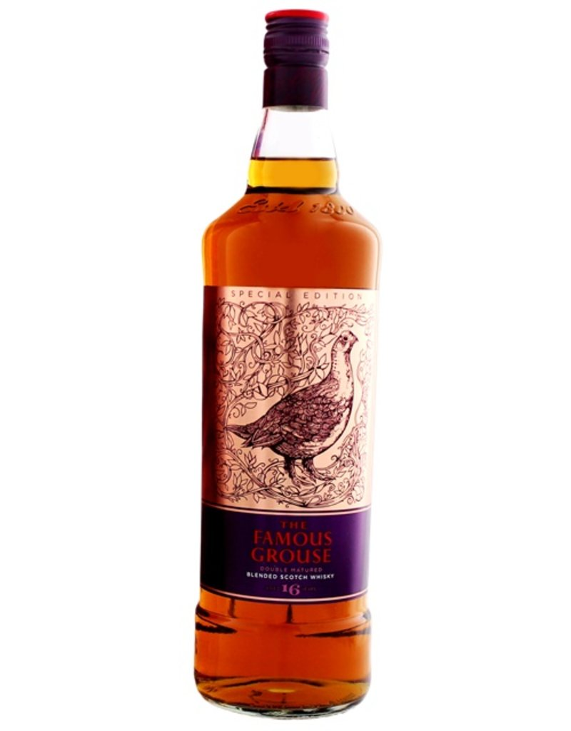 Famous Grouse Famous Grouse 16 Years Old Vic Lee Special Edition 1 Liter Gift Box