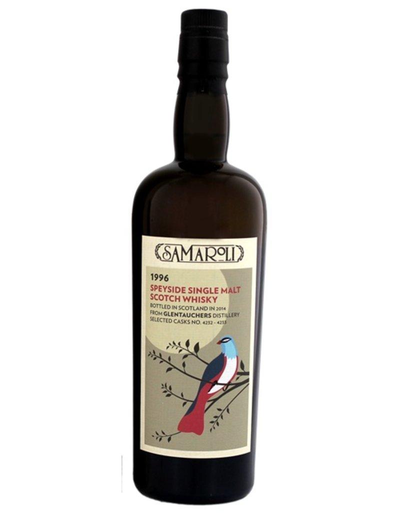Samaroli Glentauchers 17 Years Old 1996 Single Malt Scotch Whisky 700ml Gift Box