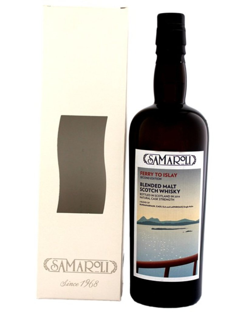 Samaroli Ferry to Islay Cask Strength Second Ed. Blended Malt Scotch Whisky 700ml Gift Box