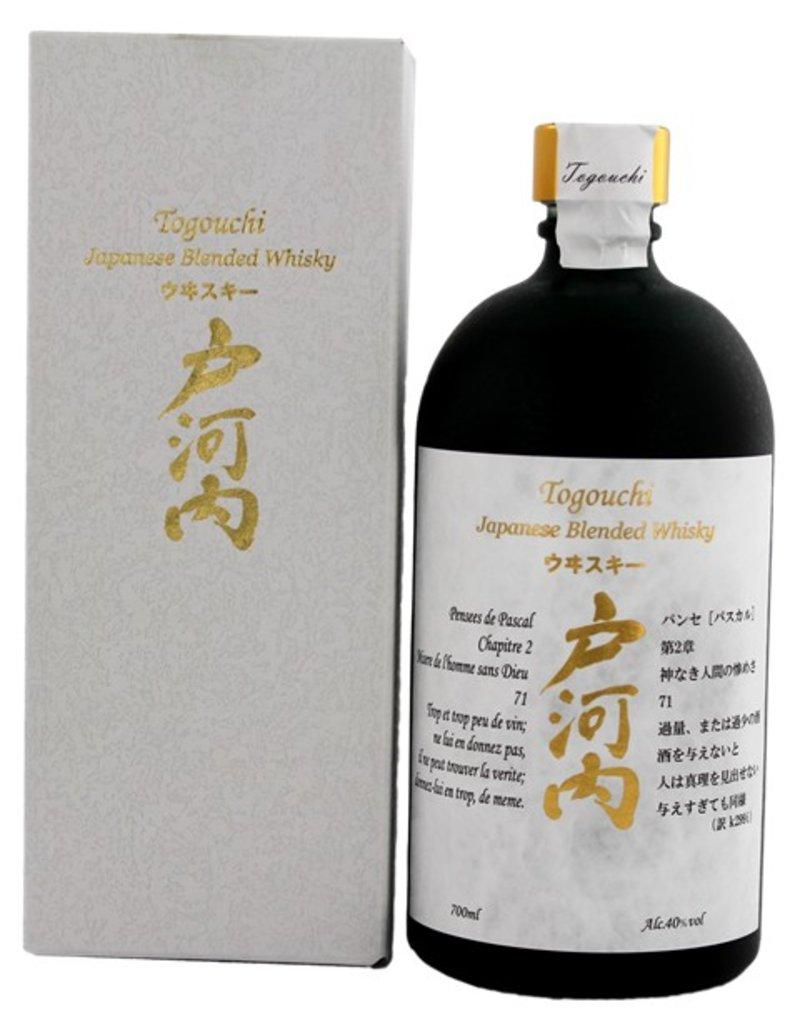 Togouchi Blended Whisky 700ml Gift Box