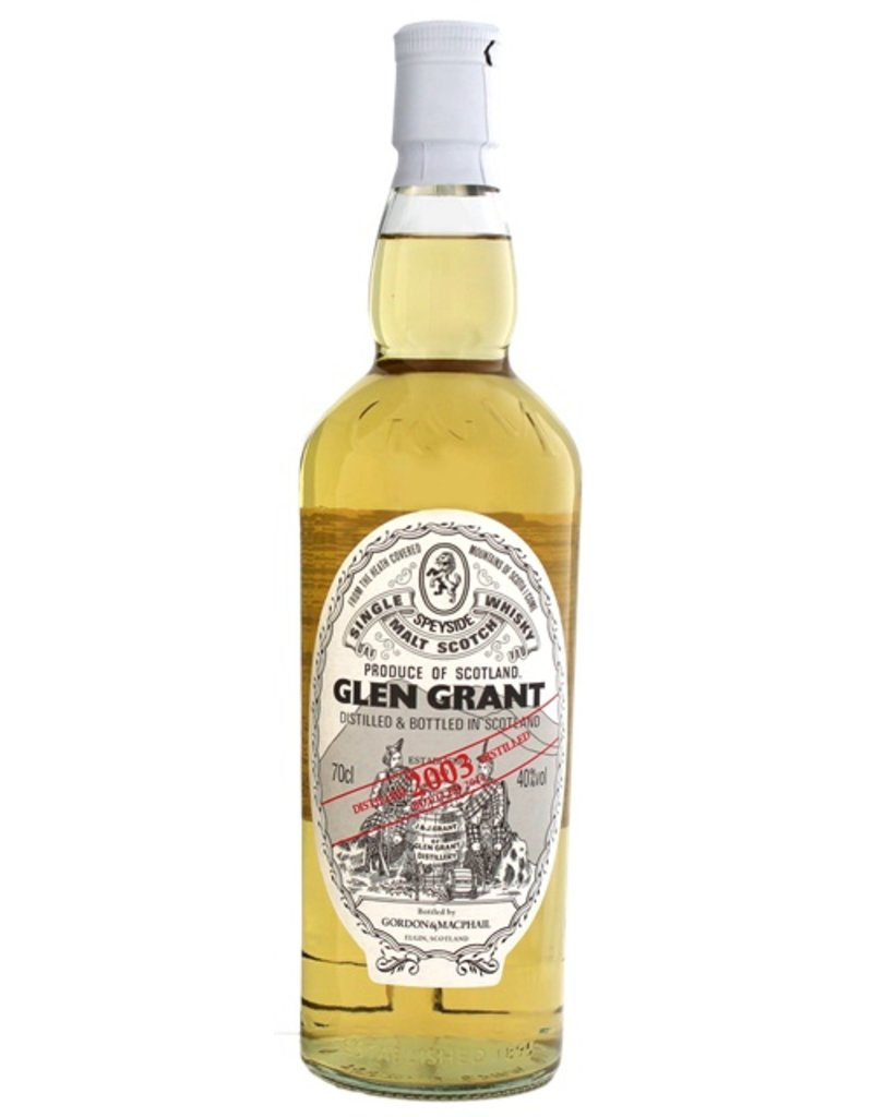 Glen Grant Vintage 2003 Gordon & MacPhail 700ml Gift Box