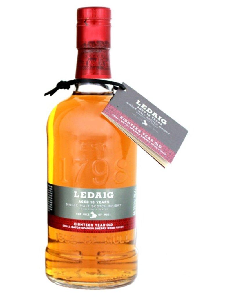 Ledaig 18 Years Old Malt Whisky 700ml Gift Box