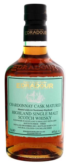 Edradour Chardonnay 2003 700ml Gift Box