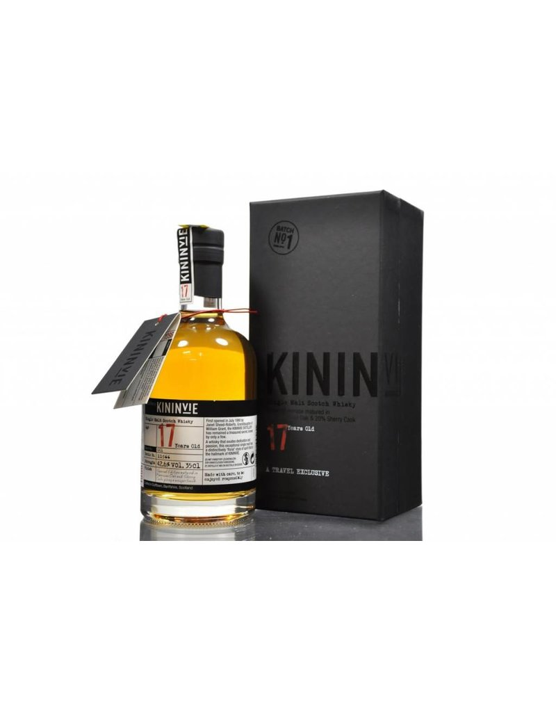 Kininvie 17 Years Old Single Malt Whisky 0,35L Gift Box