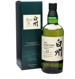 Hakushu 12 Years Old Malt Whisky 700ml Gift Box