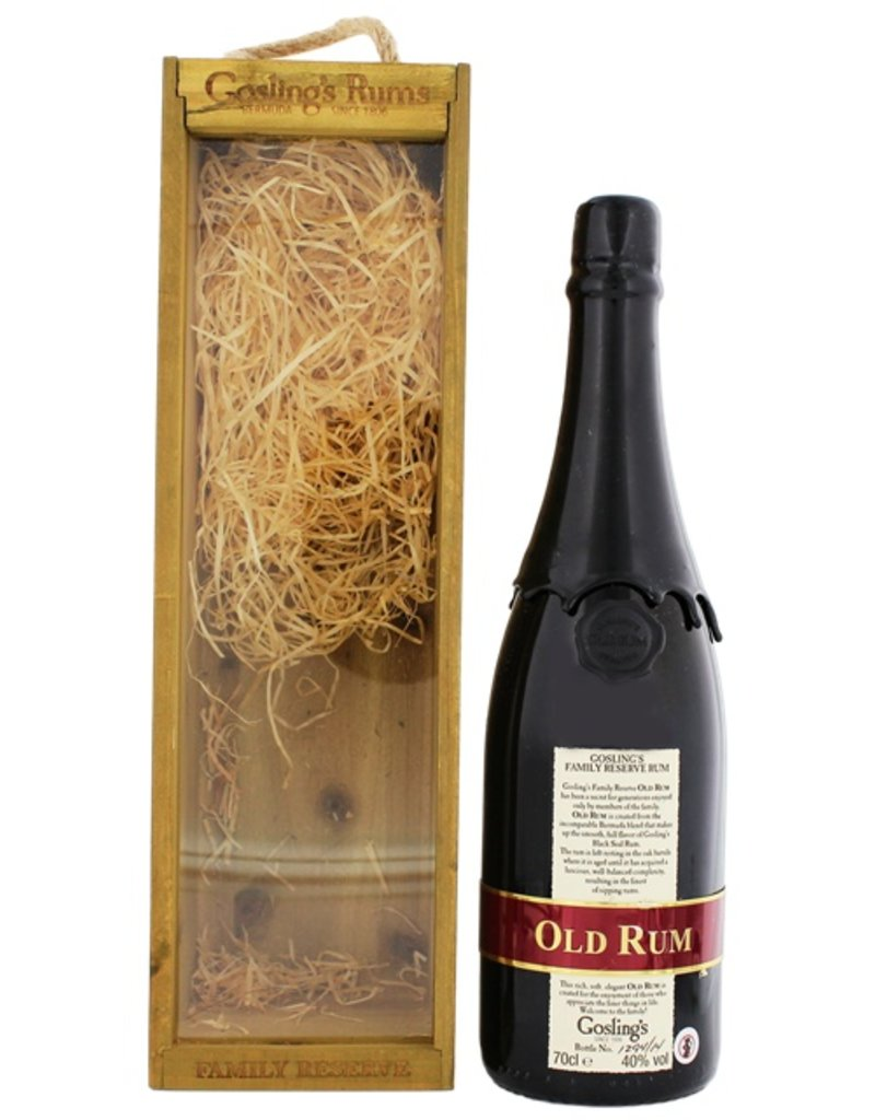 Gosling Gosling Family Reserve Rum 700ml Gift Box