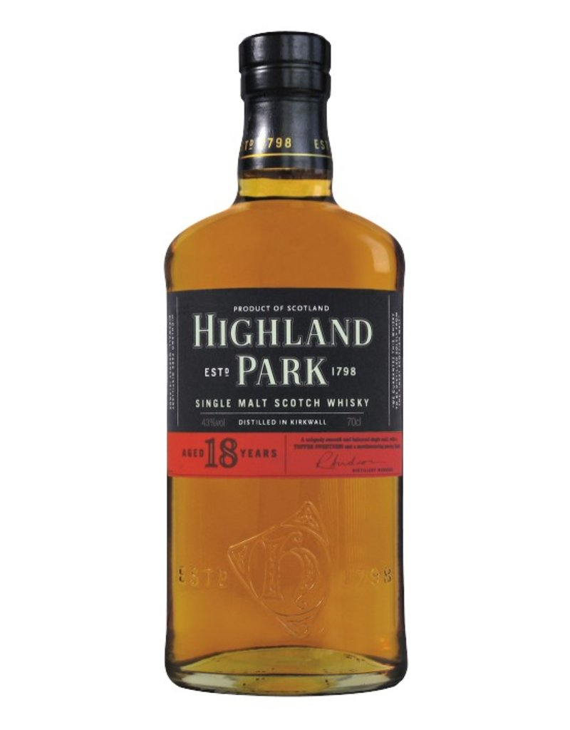 Highland Park Highland Park 18 Years Old 700ml Gift Box