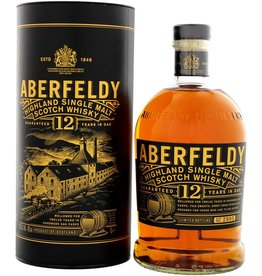 Aberfeldy 12 Years Old Single Malt Scotch Whisky 1 Liter Gift Box
