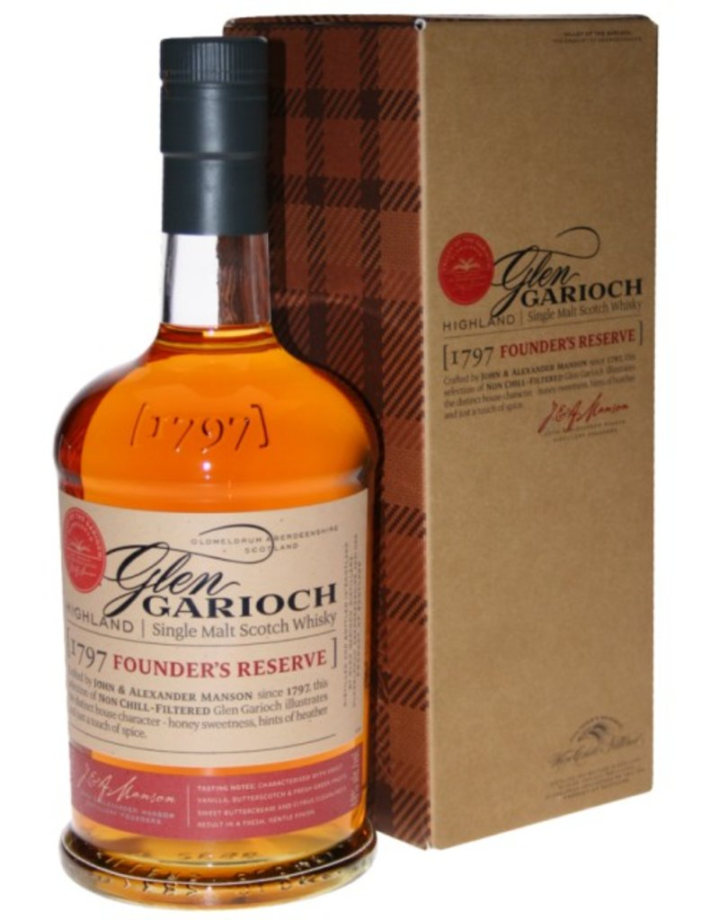Glen Garioch Founders Reserve 1 Liter Gift Box