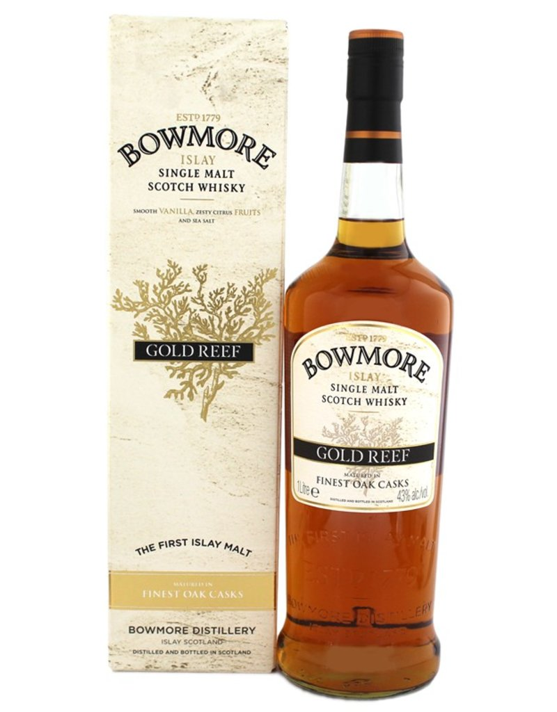 Bowmore Bowmore Gold Reef 1 Liter Gift Box