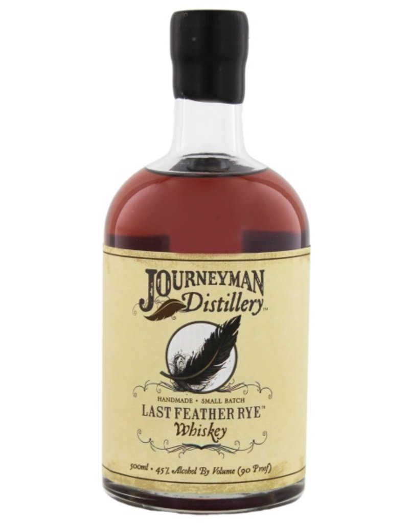 Journeyman Last Feather Rye Whiskey 500ml