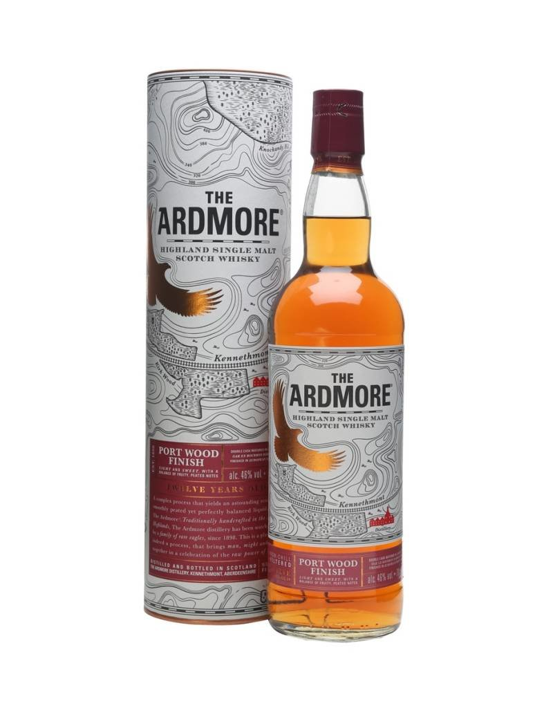 Ardmore Portwood 12 Years Old 700ml Gift Box