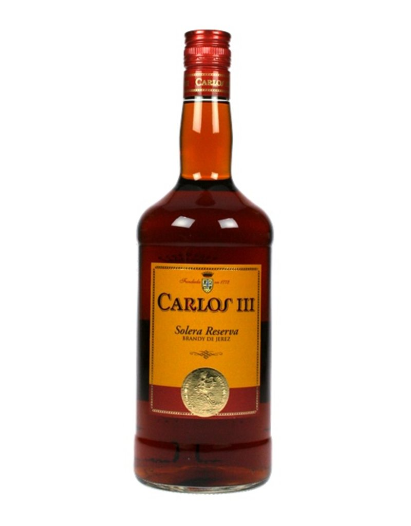 Carlos III Solera Reserva Brandy 1 Liter