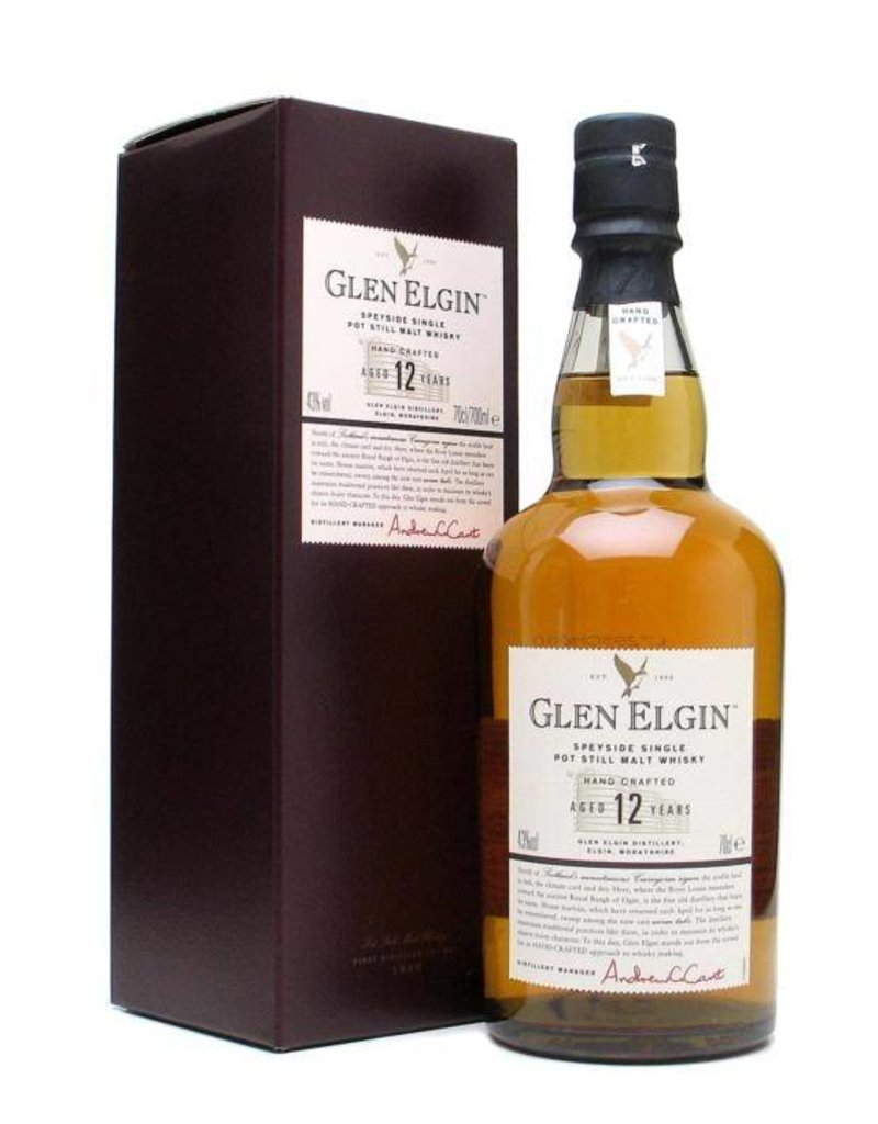 Glen Elgin 12 years old 70cl Gift Box