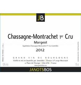 2012 Chassagne Montrachet 1er Cru Morgeot Janotsbos 75cl