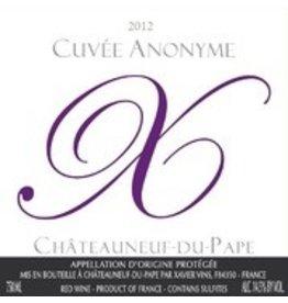 2011 Chateauneuf du Pape Cuvee Anonyme Rouge Xavier Vins 75cl