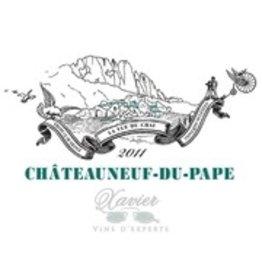 2011 Chateauneuf du Pape Rouge Xavier Vins 75cl