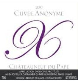 2010 Chateauneuf du Pape Cuvee Anonyme Rouge Xavier Vins 75cl