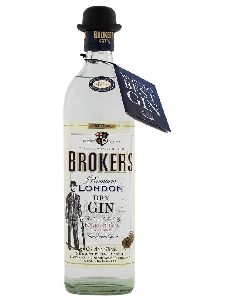 Brokers Broker s Premium Dry Gin 70cl 47%