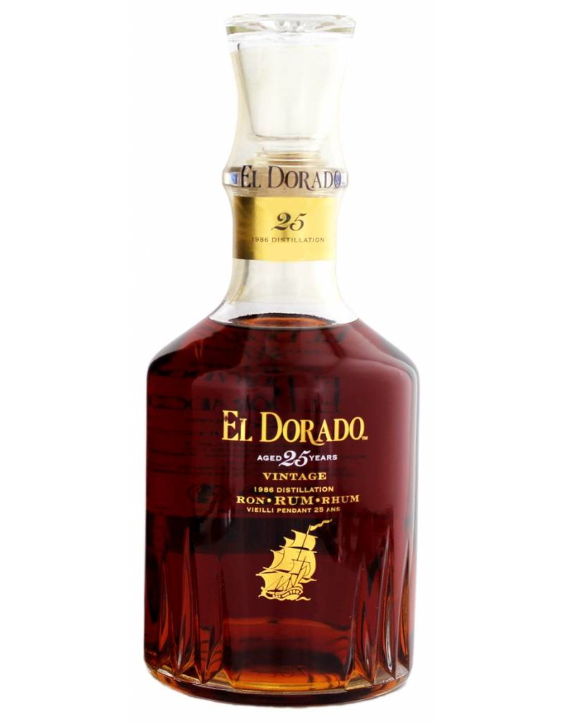 El Dorado El Dorado Rum 25 Years Old 700ml Gift Box