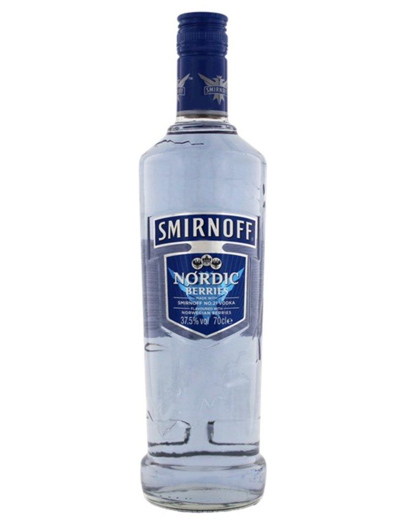 700 ml Vodka Smirnoff Nordic Berries