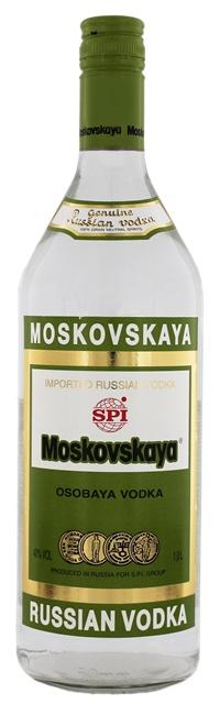 Vodka Moskovskaya Vodka