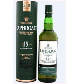 Laphroaig 15 Years Old Malt Whisky 700ml Gift Box