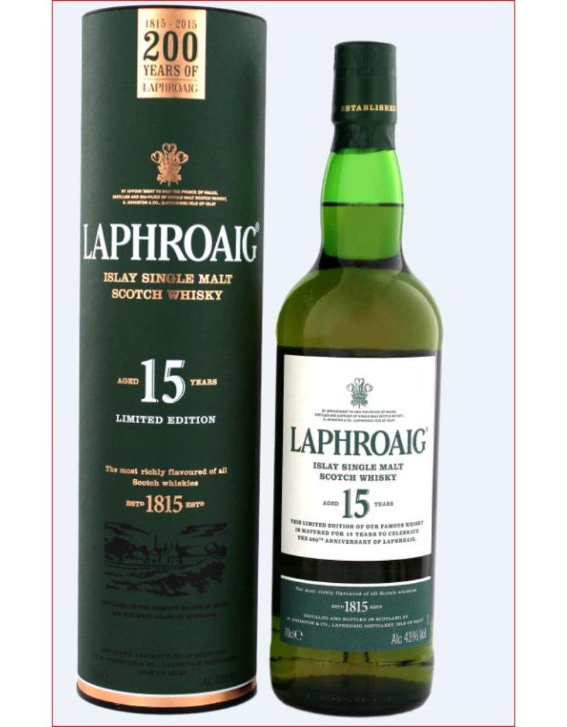 Laphroaig Laphroaig 15 Years Old Malt Whisky 700ml Gift Box
