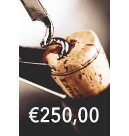 Wijn Abonnement 250 EURO