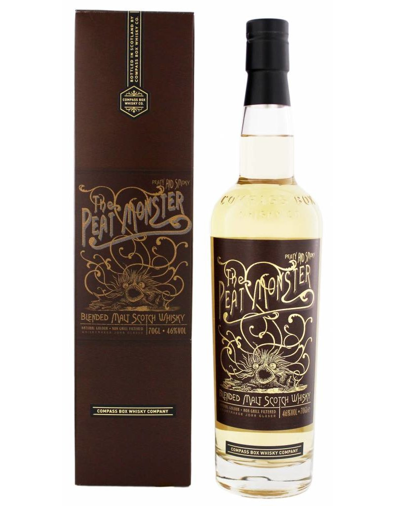 Compass Compass Box The Peat Monster 700ml Gift box