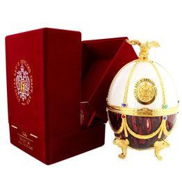 Imperial Collection Vodka Faberge Ei 700ml Bordeaux/White Gift box