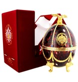 Imperial Collection Vodka Faberge Egg 700ml Bordeaux Red Gift box
