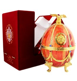 Imperial Collection Vodka Faberge Ei 700ml Orange Gift box