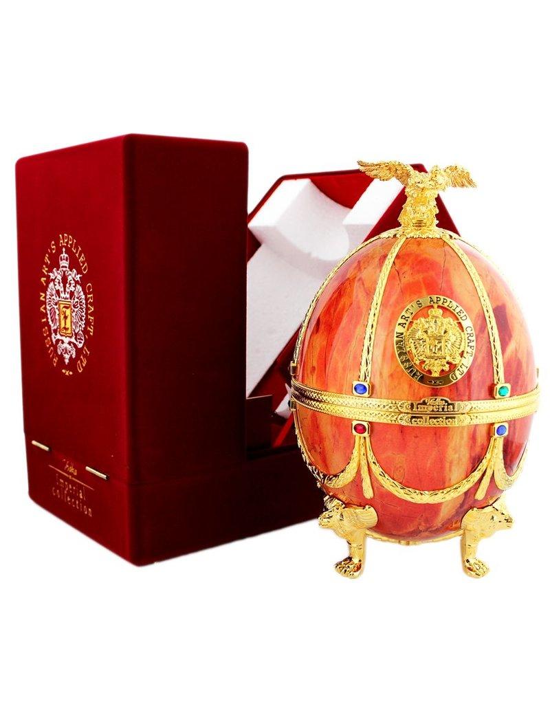 Imperial Collection Vodka Faberge Ei 700ml Orange Gift box